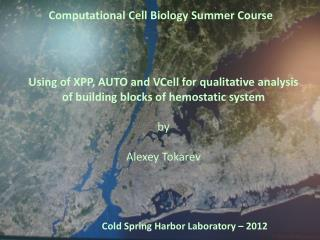 Computational Cell Biology Summer Course