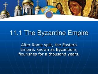 11.1 The Byzantine Empire