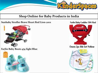 Baby shopping online