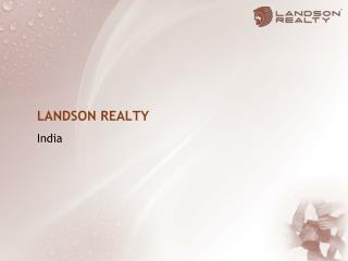 LANDSON  REALTY India