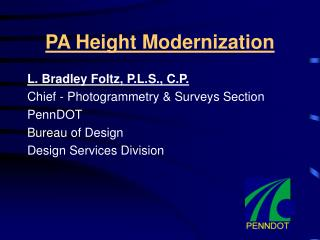 PA Height Modernization