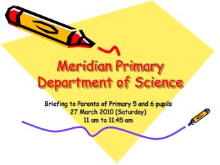 Meridian Primary Department of Science