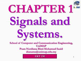 Signals and Systems.