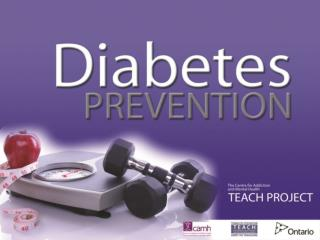 What you can do to prevent Type 2 DIABETES