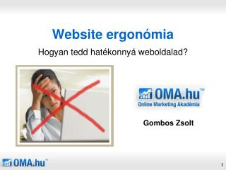 Website ergonómia