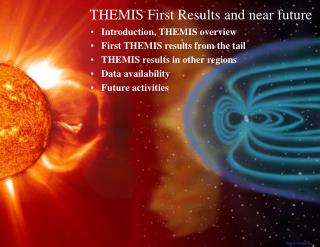 Introduction, THEMIS overview First THEMIS results from the tail THEMIS results in other regions