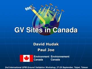 GV Sites in Canada