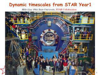 Dynamic timescales from STAR Year1