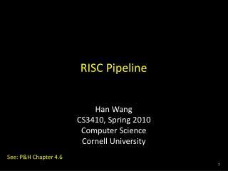 RISC Pipeline