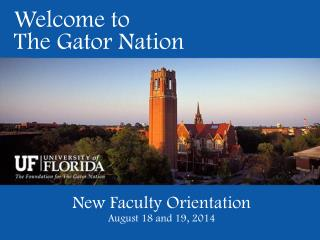 Welcome to The Gator Nation