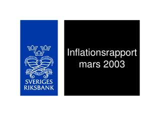 Inflationsrapport mars 2003