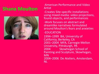Shana Moulton