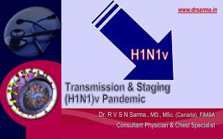 Transmission & Staging  (H1N1)v Pandemic
