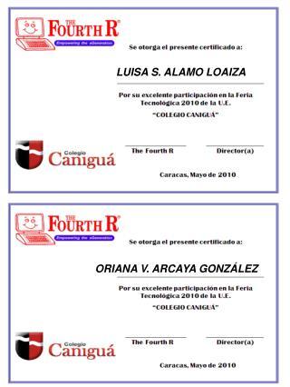 LUISA S. ALAMO LOAIZA