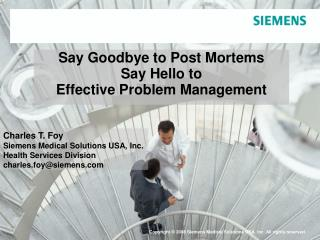 Say Goodbye to Post Mortems Say Hello to Effective Problem Management