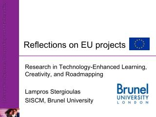 Reflections on EU projects