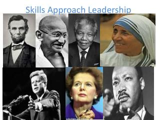 Skills Approach Leadership