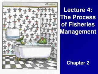 Lecture 4: The Process of Fisheries Management