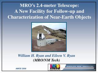 William H. Ryan and Eileen V. Ryan  (MRO/NM Tech)