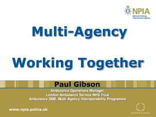 Multi-Agency Working Together