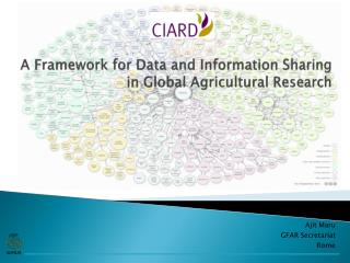 A  Framework for Data and Information Sharing  in Global Agricultural Research