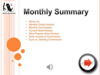 Monthly Summary
