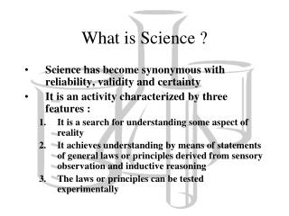 What is Science ?
