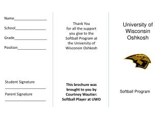 University of Wisconsin Oshkosh