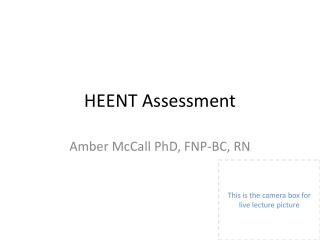 HEENT Assessment