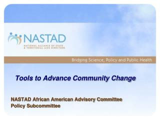 Tools to Advance Community Change