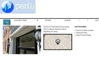 Pistilli Realty Group - Astoria Apartment