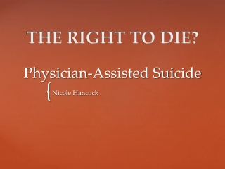 Montana Rights of the Terminally Ill
