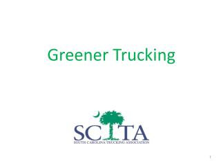 Greener Trucking