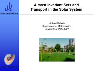Almost Invariant Sets and Transport in the Solar System