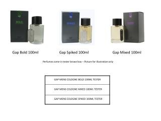 Gap Spiked 100ml