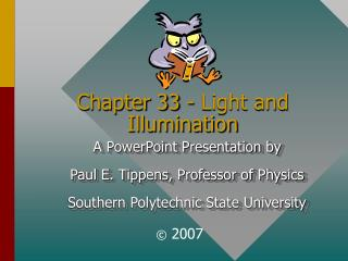 Chapter 33 - Light and Illumination