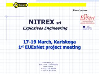 NITREX  srl Explosives Engineering