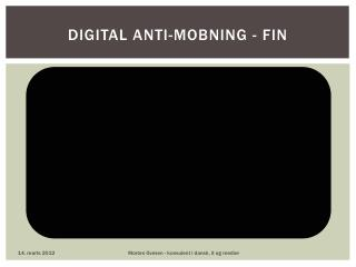 Digital  anti-mobning - FIN