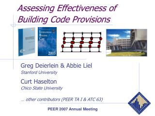 Assessing Effectiveness of Building Code Provisions