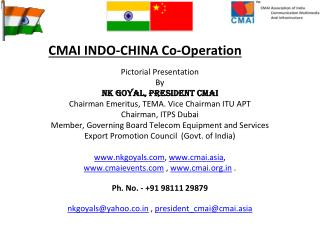 CMAI INDO-CHINA Co-Operation