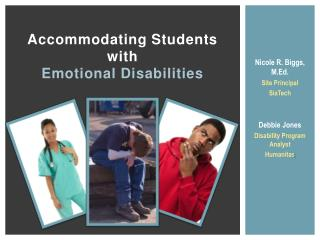 Accommodating Students  with  Emotional Disabilities