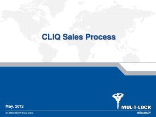 CLIQ Sales Process