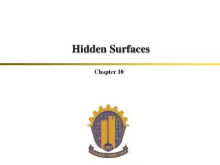Hidden Surfaces