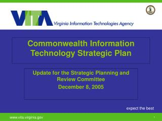Commonwealth Information Technology Strategic Plan