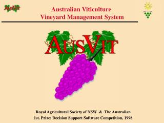 Australian Viticulture Vineyard Management System