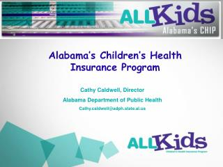 Alabama's Children's Health Insurance Program