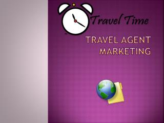 Travel Agent Marketing