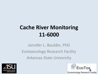 Cache River Monitoring 11-6000