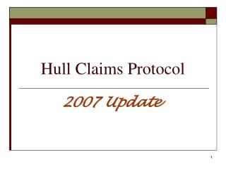 Hull Claims Protocol