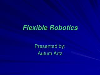 Flexible Robotics